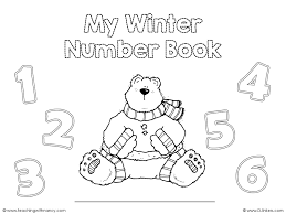 winter number book teaching with nancy