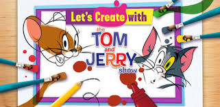 colour painting tom jerry games boomerang