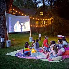 Backyard Outdoor Theater by Bring The Movie Theater To Your Backyard This Summer Buydig Com Blog