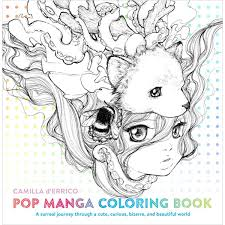 Pop Manga Colouring Book Hobbycraft Colouring Book