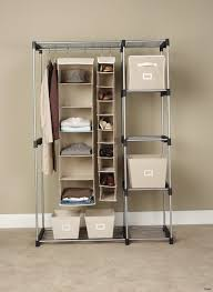 closets to go almond walk in closet organizer 10096 double hanging