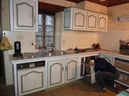 renover cuisine en chene renovation cuisine chene simple agencement de cuisine ewe with