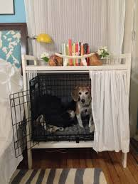 pet room dividers dog crate and bedside table ikea hackers ikea hackers