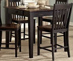 homelegance three falls counter height dining set with storage