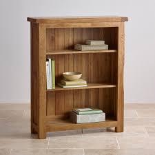 narrow bookcase oak original rustic small bookcase in solid oak oak furniture land