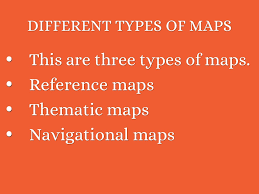 Different Types Of Maps Social Studies By Valeria Cabrera