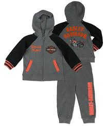 Harley Davidson Baby Bed Set Harley Davidson Boys U0027 French Terry Jogging Set 2063607 2073607