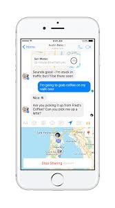 Map My Walk App Introducing Live Location In Messenger Facebook Newsroom