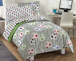 dream factory bedding ease bedding with style dream factory soccer ultra soft microfiber comforter set multi colored full