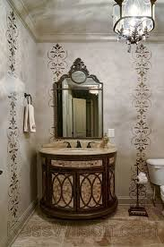 Powder Room Makeovers Photos - sugar on top decorative painting powder room makeover