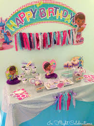 Doc Mcstuffins Home Decor In Flight Party Ideas Doc Mcstuffins Boxed Celebration Party In