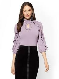 sequin tops crochet tops knits and tees ny c