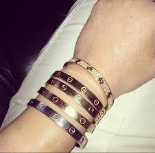 love bracelet rose gold images Knockoff cartier love bracelet on the hunt jpg
