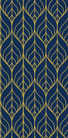 cb2 palm navy and gold self adhesive wallpaper 100 liked on