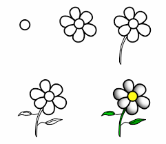 Easy To Draw Chandelier How To Draw Flowers On Wooden Fencing Tags How To Draw Flowera