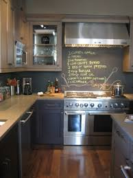 painted kitchen backsplash ideas chalkboard paint backsplash for your interior home design