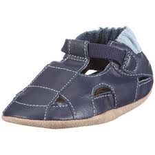 robeez boys sandal 0 6 months navy 1 pack amazon ca shoes