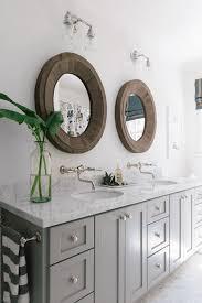 bathrooms design tri fold mirror unique bathroom mirrors wall