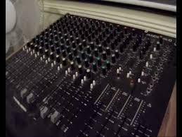 Sound Desk Tutorial 1 Mixing Desk Youtube