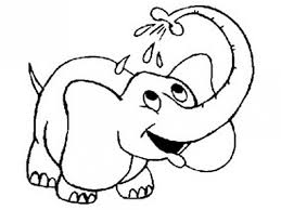 printable elephant pictures kids coloring