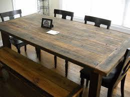Farm House Tables Modest Charming Farmhouse Kitchen Table With Bench Farmhouse