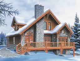 chalet cabin plans superb four season chalet drummond house plans