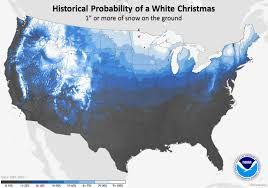 Cincinnati Zip Code Map Christmas Day Climatology And White Christmas Probability