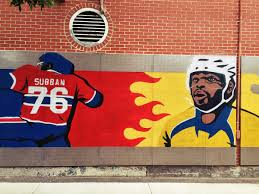 the p k subban mural in montreal hockey the p k subban mural in montreal
