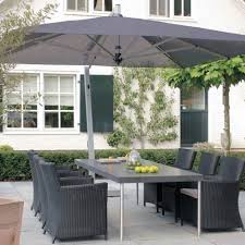 Grey Patio Umbrella Outdoor Umbrellas For Tables And Rectangular Patio Umbrella