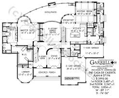 house plan blueprints casa de caserta house plan house plans by garrell associates inc
