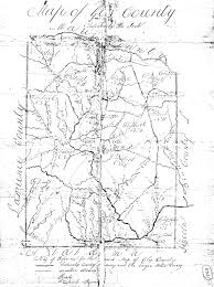Tennessee Map With Counties by 1836 Civil Districts Map And Descriptions Giles County