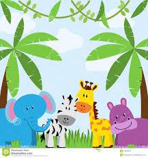 safari cartoon background clipart safari pencil and in color background clipart
