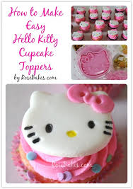 hello cupcake toppers how to make hello cupcakes