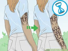 3 ways to start a sleeve tattoo wikihow