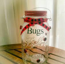 Ladybug Home Decor Popular Items For Kids Girls Room On Etsy Mason Jar Ladybug Bug