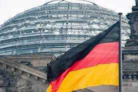 The Germany Flag Free Stock Photo 7080 German Flag And The Reichstag Dome