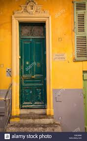 typical french door in the