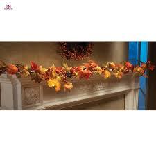 battery lighted fall garland aliexpress com buy muqgew 1 8m led lighted fall autumn pumpkin