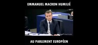 parlement europ n si e emmanuel macron humilié au parlement européen réseau international