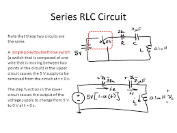 series rlc network an example on how to solve for a 1 and a ppt