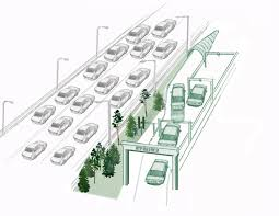 Auto Use Floor Plan Self Driving Cars Could Get U0027hyperlane U0027 By 2050 Fortune