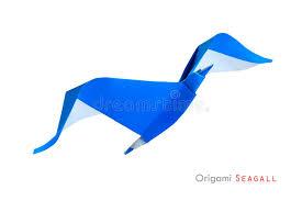 origami gabbiano gabbiano di origami immagine stock immagine di aperto 41539749