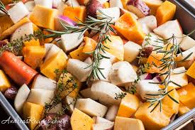 Root Vegetables Roasted - roast turkey recipe with root vegetables and gravy andrea meyers