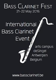 Buffet International Clarinet by International Bass Clarinet Festival May International