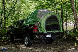 Chevy Silverado Truck Tents - hands on with the napier backroadz truck bed tent the garage