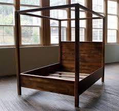 Wood Canopy Bed Frame Wood Canopy Bed Frame 22