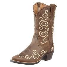 458443229 kids boots ariat 10010256 distressed brown 1 jpg