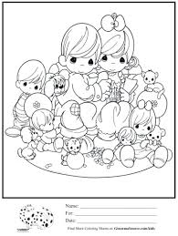 17 best images about coloring pages within precious moments