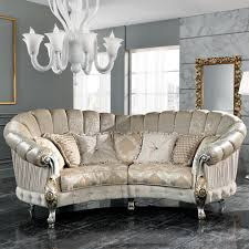 Curved Sofa Designs Italian Designer Four Seater Curved Sofa Juliettes Interiors