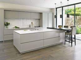white kitchen cabinets and floors cool sleek white tiled kitchen floors modern design